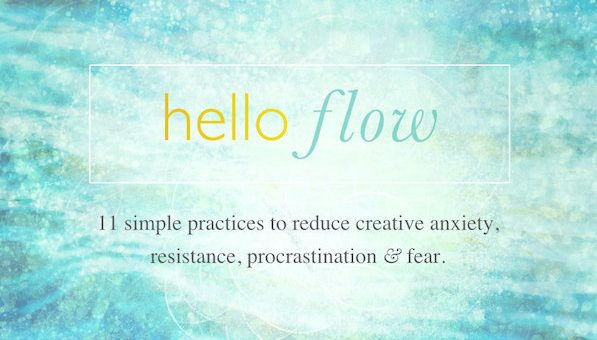 hello flow creativity courses page creative well